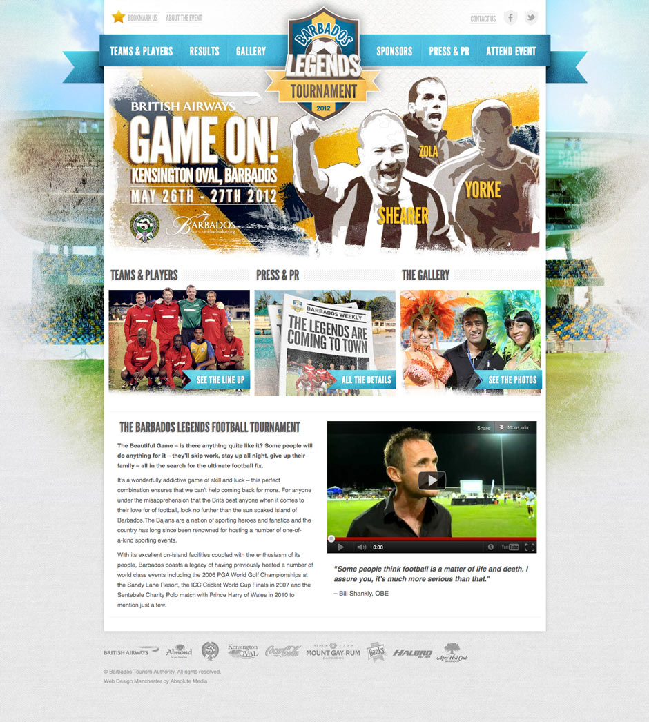 Barbados Football Legends